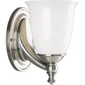 Victorian  Brushed Nickel  Wall Sconce