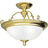 Prescott 3 Light Semi Flush Mount