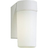 28w Hard-Nox Compact Fluorescent Outdoor Wall Lantern in Black