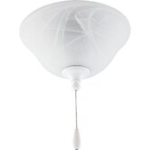 Two Light Energy Star Bowl Ceiling Fan Light Kit