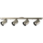 50W Par 20 Directional Track Light Kit in Brushed Nickel