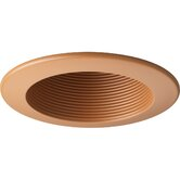 "4"" Recessed Open Baffle Trim in Chestnut"