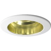 "4""  Open Trim for Recessed Lighting in Gold Anodized Finish"