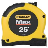 "Max™ 1-1/8"" X 25' Tape Measure  33-279"