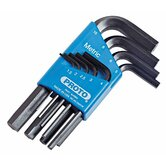 Set Hex Key 9Pc Metric