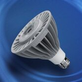 PAR38 18 Watt Narrow Flood Beam LED Bulb with 25 Degree Beam Angle in White