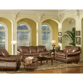 Leather Italia USA Leather Living Room Sets