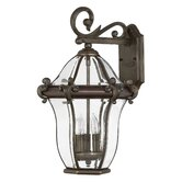 San Clemente Outdoor Wall Lantern in Copper Bronze