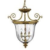 Oxford 3 Light Chandelier Pendant
