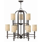 Sloan 9 Light Chandelier