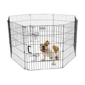 Ultimate Exercise Pen with Door in Black