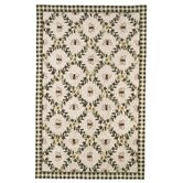 Chelsea Ivory/Green Bumblebee Rug