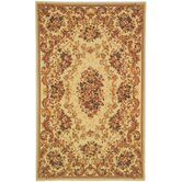 French Tapis Ivory/Ivory Rug