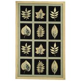Chelsea Forest Black Novelty Rug
