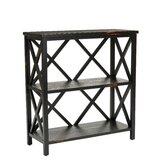 Lucas Etagere in Distressed Black