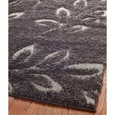 Florida Shag Dark Brown/Grey Rug