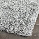 Malibu Shag Silver Rug
