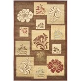 Lyndhurst Brown/Multi Squared Rug