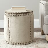 Paula Fabric Ottoman
