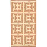 Courtyard Terracotta/Cream Rug