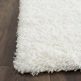 Shag White Rug