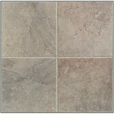"Egyptian Stone 13"" x 13"" Floor Tile in Nile Gray"
