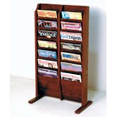 Wooden Mallet Magazine Racks