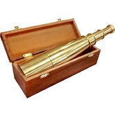 18x50 Collapsible Spyscope, Anchormaster Telescopes with Storage Chest