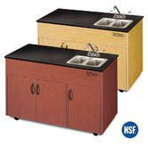 Advantage 2 Portable Hand Washing Station NSF Certified with Storage Cabinet
