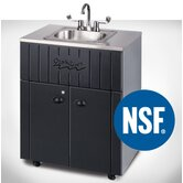 Nature Premier Single Bowl Outdoor Portable Sink