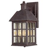 Abbey Outdoor Wall Lantern in Sunset Bronze