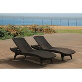 Keter Patio Chaise Lounges