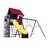 Primary Heavy Duty Metal Play Set with Clubhouse