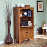 Rose Valley Laptop Cabinet in Abbey Oak