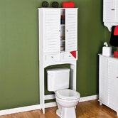Vermont Bathroom Space Saver in White