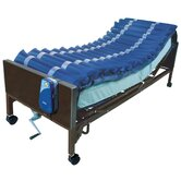 "5"" Med Aire Low Air Loss Mattress Overlay System with APP in Blue"