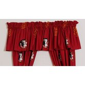 Florida State University Printed Curtain Valance