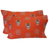 North Carolina State Wolfpack Pillow Case Set
