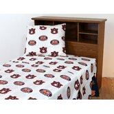 Auburn Printed Sheet Set in White