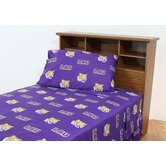 Louisiana State University Printed Sheet Set in Solid