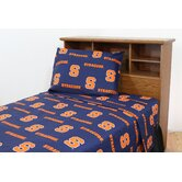 NCAA Cotton Sateen Sheet Set