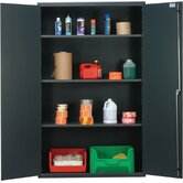 "48"" Wide Welded Storage Cabinet with Flush Doors"
