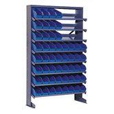 Single Sided Pick Rack Shelf Storage Unit