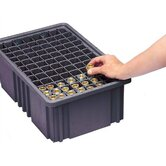 Conductive Dividable Grid Storage Container Long Dividers for DG91050CO