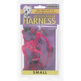 Aspen Pets Adjustable Dog Harness in Red