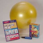 "29.53"" Ball in Yellow (Package with Pump)"