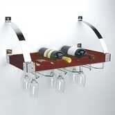 6 Bottle Hanging Wine Rack