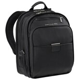 "@Work 15.4"" Executive Clamshell Backpack in Black"