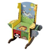 Sunny Safari Potty Kid's Rocking Chair