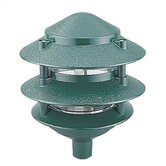 Ambiance 120v Incandescent Die Cast Landscape Light in Verde
